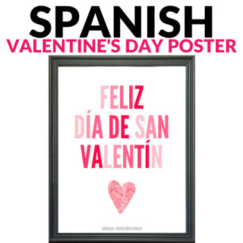 valentines day poster el dia de san valentin - Valentines Posters