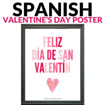 Valentine's Day Poster / El Dia de San Valentin