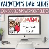 Valentine's Day Powerpoint & Google Slides Templates