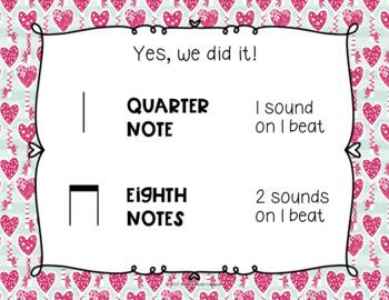 Valentine's Day Pre-Reading: Prepare/Present/Practice Ta ti-ti