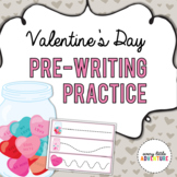 Valentine's Day Pre-Writing Practice