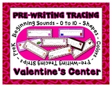 Valentine's Day Pre-Writing Strips ~ 60+ includes Letter,