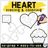Valentines Day Preschool Activities Tracing Worksheet with