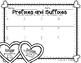 Valentine's Day Prefix and Suffix Scoot