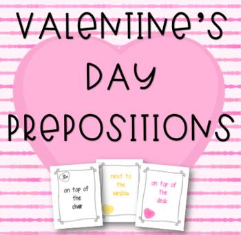 Valentine's Day Prepostions