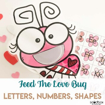 Valentine's Day Preschool Activity - Feed the Love Bug
