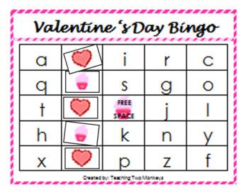 Valentine's Day Preschool Bundle