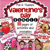 Valentine's Day Preschool Curriculum Activities BUNDLE