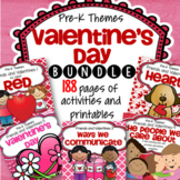 Valentine's Day Preschool Curriculum Activities BUNDLE