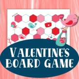 Valentine's Day Preschool Game | Simple Counting Board Game