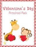 Valentine's Day Preschool Learning Pack