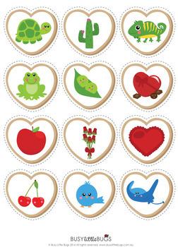 Valentine's Day Preschool Pack