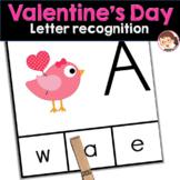Valentine's Day Preschool and PreK Literacy ELA Activity