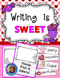 Valentine's Day Primary Lined Writing Paper Pack