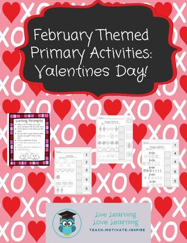Valentine's Day Primary Printable Bundle