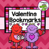 Valentine's Day / I Love to Read Printable Bookmarks