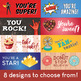 Printable Candy Wrappers for Holidays, Birthdays, Parties, and More!