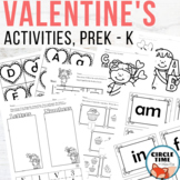 Valentine's Day Printable Pack {PreK / Kindergarten}