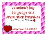 Valentine's Day No Prep Printables