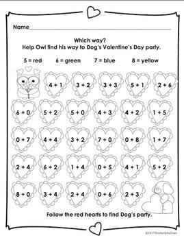 Valentine's Day Printables Guided Reading Kindergarten