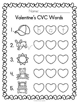 Valentine's Day Printables- Math & Reading