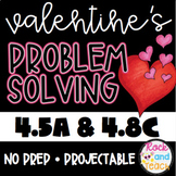 Valentine's Day Problem Solving 4.5A & 4.8C