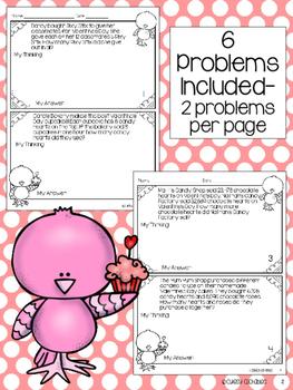 Valentine's Day Problem Solving Freebie Pack
