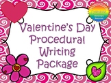 Valentine's Day Procedural Writing Package