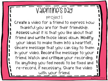 Valentine's Day Project-Based Learning & Enrichment for Literacy, Math & STEM