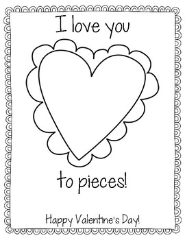 Valentine's Day Project: I Love You To Pieces!