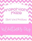 Valentine's Day Proportion Maze