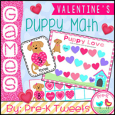 Valentine's Day Puppy Math