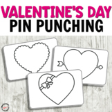 Valentine's Day Push Pin Cards for Fine Motor activities