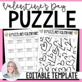 Valentines Day Activity {Editable}
