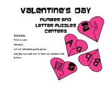 Valentine's Day Puzzle (Letters and Numbers)