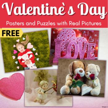 FREE Valentine`s Day Puzzles