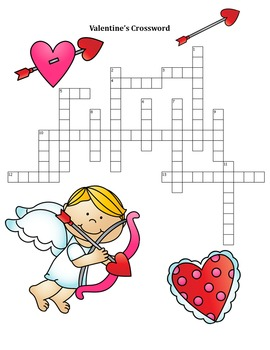 Valentine's Day Puzzles for Grades 4-12