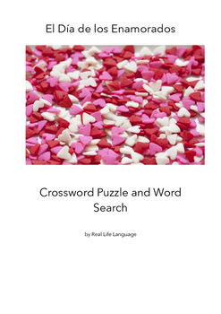 Valentine's Day Puzzles for Students of Spanish