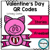 Valentine's Day QR Code Listening Center