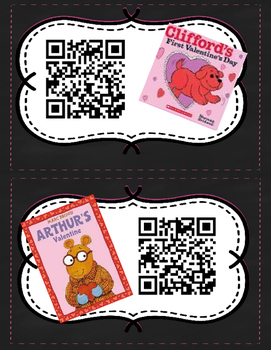 Valentine's Day QR Listening Center FREEBIE!