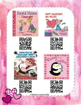 Valentine's Day QR Read-Alouds (Listening Center)