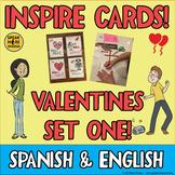 Valentine's Day Quote Cards in Spanish and English! El Día de San Valentín