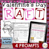 Valentine's Day RAFT Writing Activity