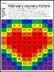 Valentine's Day Rainbow Heart 120 Chart Mystery Picture