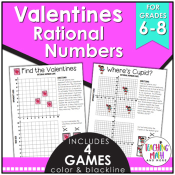 Valentine's Day Rational Numbers Game