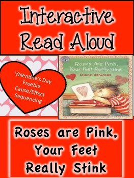 Valentine's Day Read Aloud - Freebie!  Roses Are Pink, Your Feet Really Stink