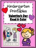 Valentine's Day Read and Color