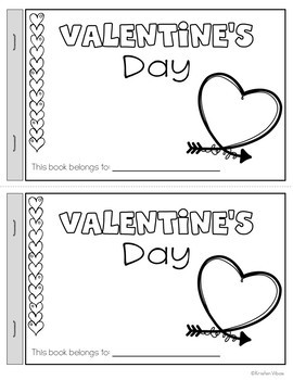 Valentine's Day Reader and Activities Booklet
