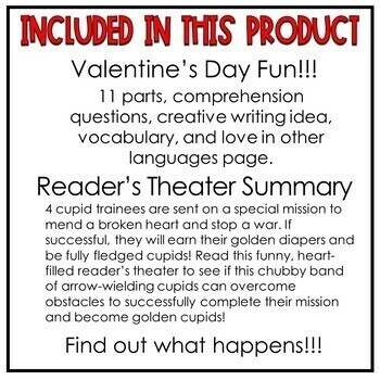 Valentine's Day Readers' Theater | Cupid and the Golden Diaper