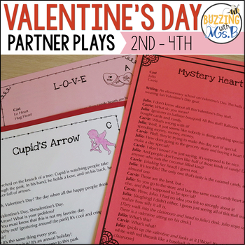 Valentine's Day Reader's Theater: Partner Plays for Two Readers